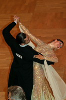 Grant Barratt-thompson & Mary Paterson at Blackpool Dance Festival 2005