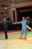 Denys Drozdyuk & Antonina Skobina at Blackpool Dance Festival