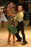 Stefano Moriondo & Malene Ostergaard at International Championships 2008