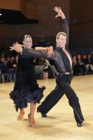 Stefano Moriondo & Malene Ostergaard at UK Open 2010