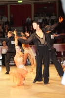 Danny Stowell & Kate Moore at International Championships 2011