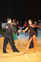 Danny Stowell & Kate Moore at UK Open 2012