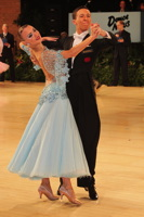 Luke Miller & Hanna Cresswell at UK Open 2013