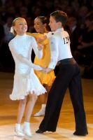 Luke Miller & Hanna Cresswell-Melstrom at The British Closed 2007
