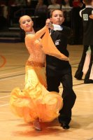 Luke Miller & Hanna Cresswell-Melstrom at International Championships 2008