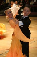 Luke Miller & Hanna Cresswell at International Championships 2008