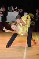 Luke Miller & Hanna Cresswell-Melstrom at International Championships 2009