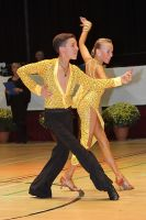 Luke Miller & Hanna Cresswell at International Championships 2009