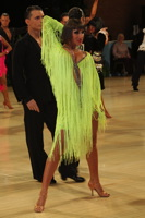 Evgeni Smagin & Polina Kazatchenko at UK Open 2012