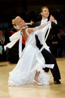 Arunas Bizokas & Katusha Demidova at UK Open 2008