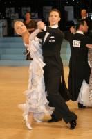Arunas Bizokas & Katusha Demidova at UK Open 2009