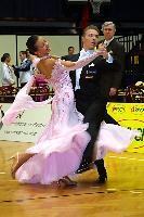 Sergei Konovaltsev & Olga Konovaltseva at Austrian Open 2004