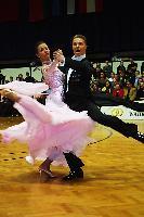 Sergei Konovaltsev & Olga Konovaltseva at Austrian Open Championships 2004