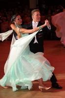 Sergei Konovaltsev & Olga Konovaltseva at Blackpool Dance Festival 2005