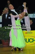 Sergei Konovaltsev & Olga Konovaltseva at Austrian Open 2003