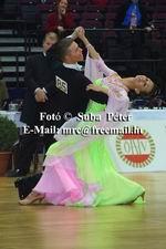 Sergei Konovaltsev & Olga Konovaltseva at Austrian Open Championships 2003