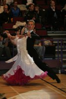 Szymon Kulis &amp; Margarita Zvonova at International Championships 2008