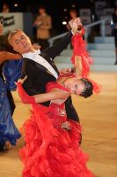 Szymon Kulis &amp; Margarita Zvonova at UK Open 2010