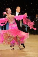 Ben Taylor & Stefanie Bossen at UK Open 2011