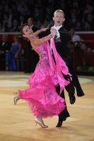 Christopher Short & Elisa Chanaa at International Championships 2009
