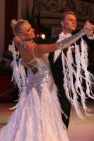 Aleksandr Zhiratkov & Irina Novozhilova at Blackpool Dance Festival 2009