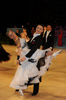 Stanislav Portanenko & Nataliya Kolyada at UK Open 2012