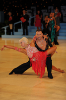 Ilia Borovski & Veronika Klyushina at UK Open 2012