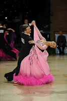 Domen Krapez & Monica Nigro at UK Open 2012