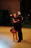 Andrei Mosejcuk & Kamila Kajak at UK Open 2012