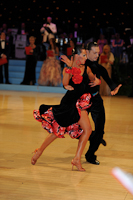 Andrei Mosejcuk & Kamila Kajak at UK Open 2012
