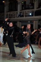 Francesco Bertini & Sabrina Manzi at Blackpool Dance Festival 2012
