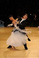 Jacek Jeschke & Hanna Zudziewicz at UK Open 2012