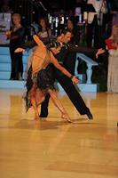 Andrius Kandelis & Elena Zverevshchikova at UK Open 2012