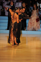 Andrius Kandelis &amp; Elena Zverevshchikova at UK Open 2012