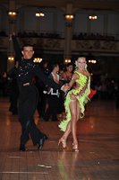 Maksim Bodmar &amp; Elyzaveta Vnuchkova at Blackpool Dance Festival 2012
