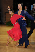 Kyle Taylor &amp; Polina Shklyaeva at UK Open 2012