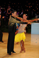 Yegor Novikov &amp; Yana Blinova at UK Open 2012