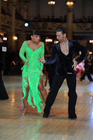 Michele Prioletti &amp; Julia Polai at Blackpool Dance Festival 2012