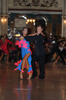 Stefano Moriondo &amp; Darya Byelikova at Blackpool Dance Festival 2012
