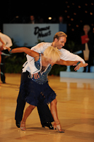 Alex Ivanets & Lisa Bellinger-Ivanets at UK Open 2012