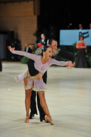 Sergey Sourkov & Agnieszka Melnicka at UK Open 2013