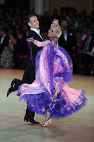 Mark Elsbury & Olga Elsbury at Blackpool Dance Festival 2012
