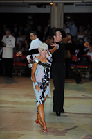David Byrnes & Karla Gerbes at Blackpool Dance Festival 2012