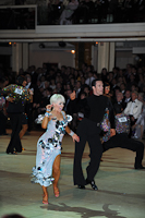 David Byrnes &amp; Karla Gerbes at Blackpool Dance Festival 2012