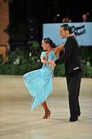 Emanuele Soldi & Elisa Nasato at UK Open 2013