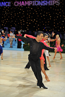 Denys Drozdyuk & Antonina Skobina at UK Open 2013