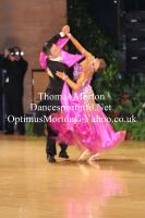 Chao Yang & Yiling Tan at UK Open 2012