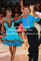 Neil Jones & Ekaterina Jones at Blackpool Dance Festival