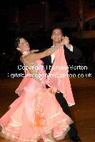 Dusan Dragovic & Ekaterina Romashkina at Dutch Open 2009