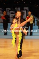 Ilia Borovski & Veronika Klyushina at UK Open 2011